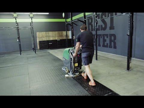 Bulldog WD20 Floor Scrubber at Block CrossFit