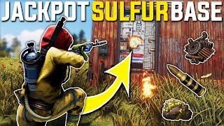 JACKPOT SULFUR RAIDING Our RICH NEIGHBOURS BASE Gave JACKPOT LOOT - Rust Survival Gameplay | S22-E6