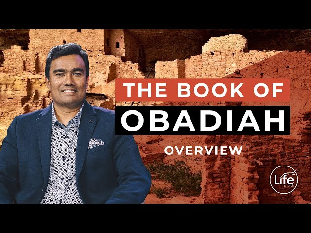 Overview: The Book of Obadiah  |  Rev Paul Jeyachandran