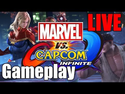 Marvel vs. Capcom Infinite - Gameplay LIVE!