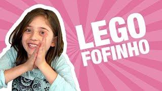 LEGO FOFINHO!! | Brincadeiras da Luli | Unboxing Brinquedo: Bunchems