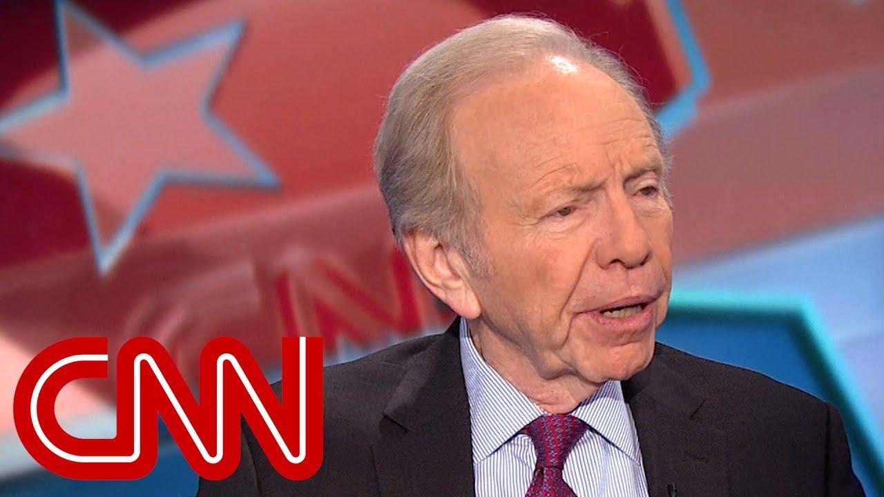 Lieberman on 2020: Don't count Bernie Sanders out