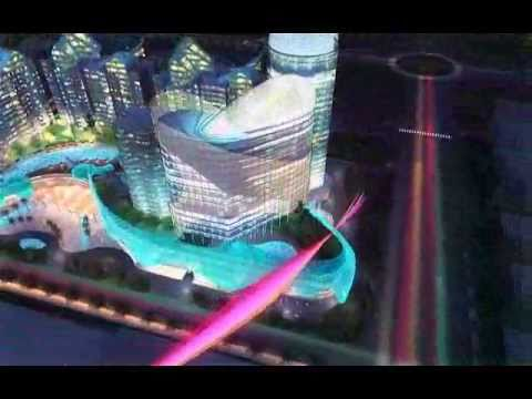 Mixed-use Development 3D Architecture Animation