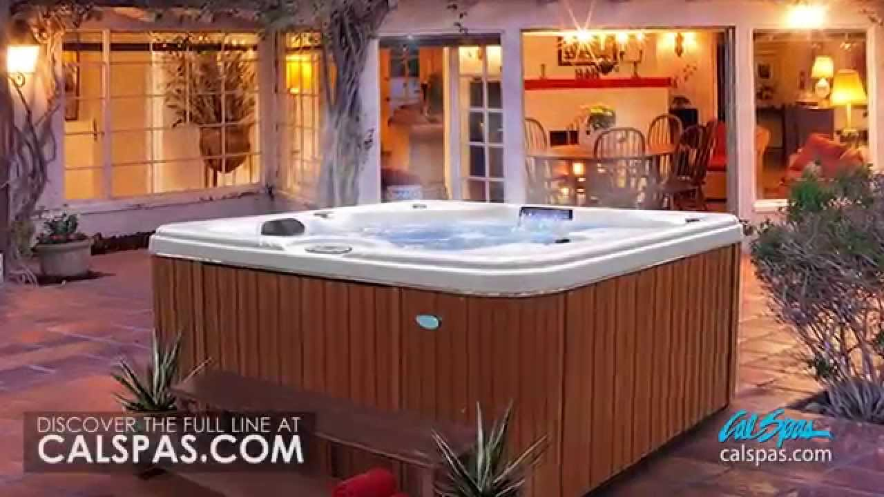 Cal Spas Presents The GEN-II Signature Series Hot Tubs - YouTube