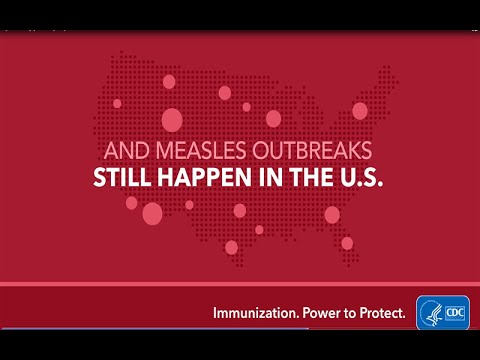 Measles - #VaccinesByTheNumbers