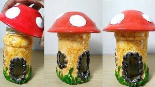 How to make mushroom fairy house very easy