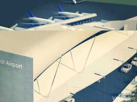 New Road and new Airport in liberia city 2020