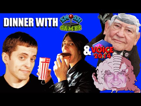 DINNER with SMOSH GAMES and VOICE 2014 (VO 101)