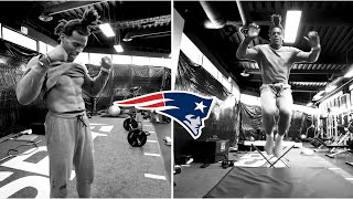 New England Patriots QB Cam Newton HYPED To Be With New Team, Gets Pool Workout & Gym Work!