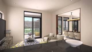 Duplex Apartment Interior - التصميم الداخلي لشقة من طابقين