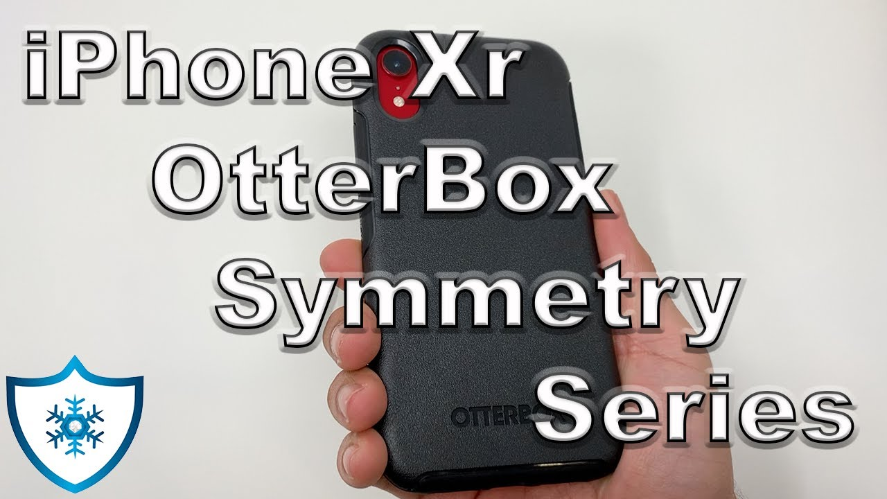 timeless design dbb63 d0f44 iPhone Xr OtterBox Symmetry Series Case Black Review