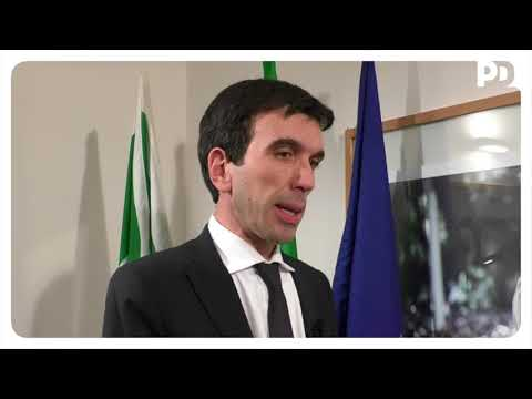 Maurizio Martina al TG1 dopo la Direzione Nazionale del Partito Democratico