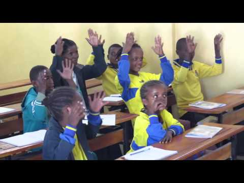 Children Learning Sign Language Ethiopia Deaf Project Ambo