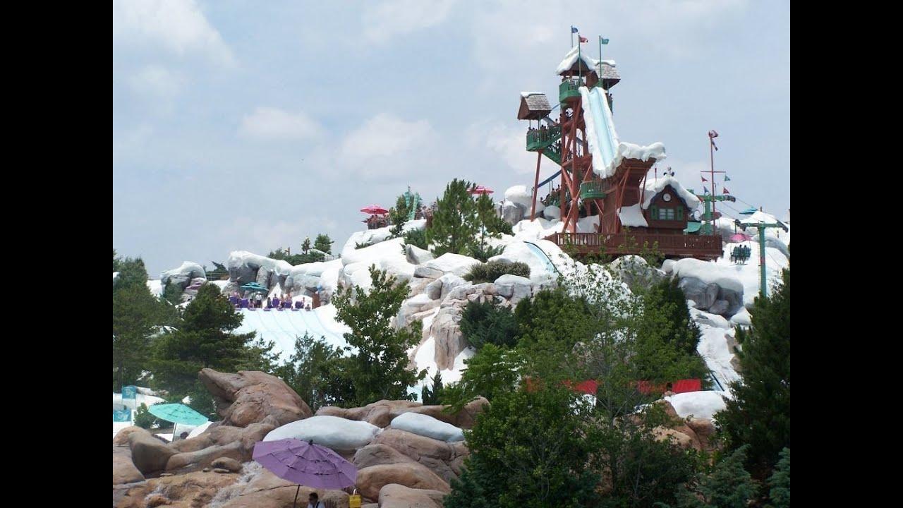 Tour Of Disney S Blizzard Beach Water Park In Hd Walt Disney World