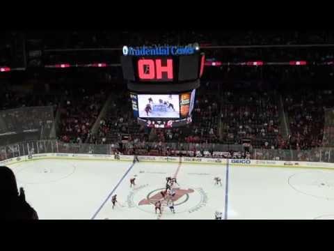Zajac (New Jersey Devils) scores