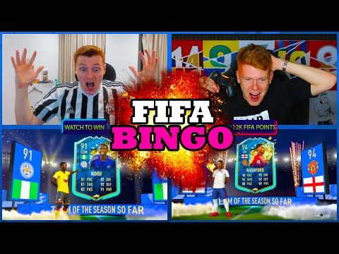 PREMIER LEAGUE TOTS FIFA BINGO!!!
