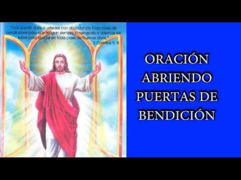 Oraciones Para Abrir Puertas A La Bendicion Y Pedir Proteccion