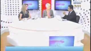 Entrevista Canal Antigua   Comisionada Adela de Torrebiarte   1 de octubre 2012