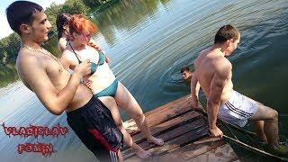 Моё времяпровождение: прыжки в воду, красивая природа, дача... Владислав Фомин.