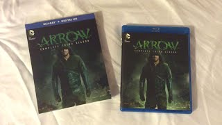 Arrow: Complete Third Season (2014-2015) Blu Ray Unboxing Review