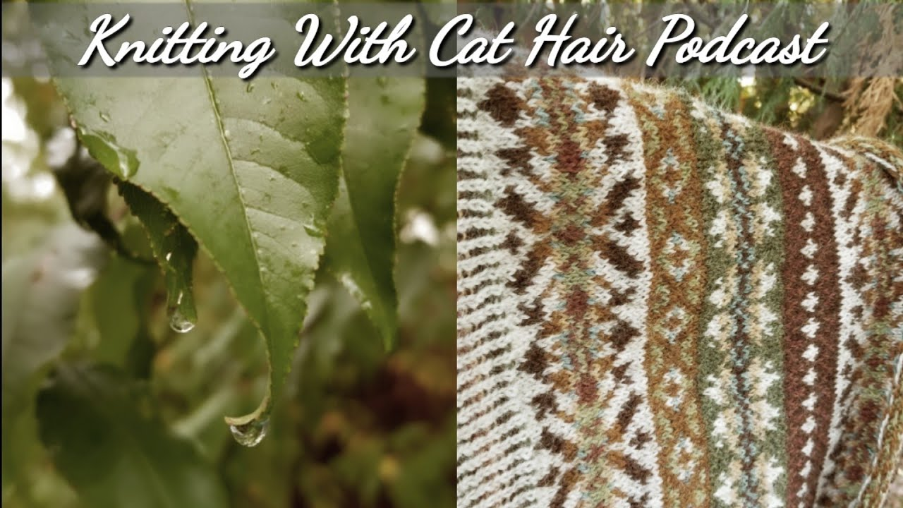 Download Knitting With Cat Hair Podcast - Ep. 32: Knitting my first test knit (Wild Posy Jumper)