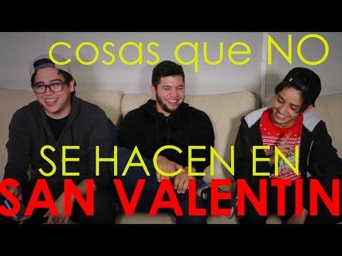 """Cosas que """"NO"""" se hacen en SAN VALENTIN con Harold y Ramiro"""