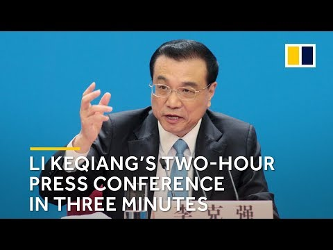 Li Keqiang's two-hour press conference in three minutes