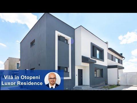 Vila in Otopeni Luxor Residence Robert Stoicea Consultantul tau imobiliar