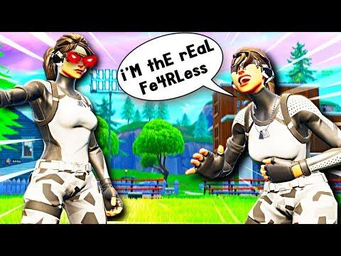 The FAKE Fe4RLess....lol