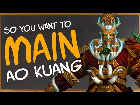 So You Want To Main Ao Kuang | Builds | Counters | Combos & More! (Ao Kuang SMITE Guide)