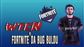Ferit wtcN Finds Bug Playing Fortnite Battle Royale