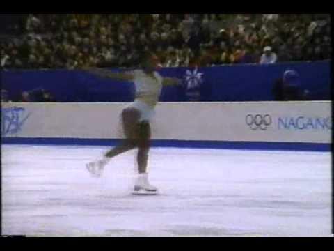 Surya Bonaly (FRA) - 1998 Nagano, Figure Skating, Ladies
