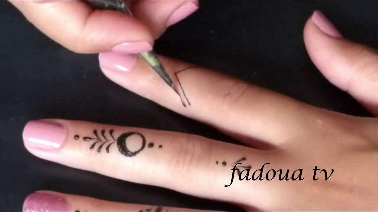 Very Simple Henna Designs For Beginners Youtube