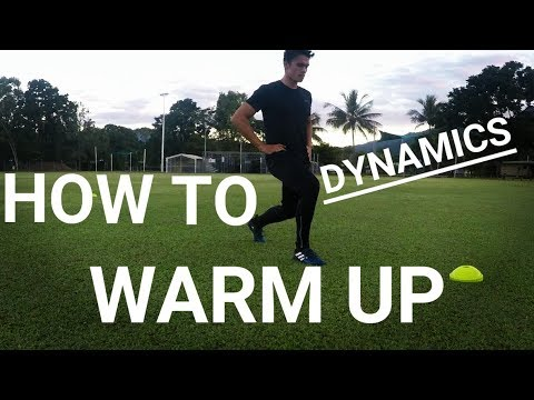 Dynamic Warm Up For Soccer/Football | How To