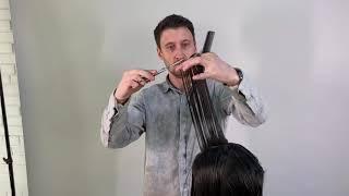 Женская стрижка на тонкие волосы Удлиненное каре Максим Воробьев