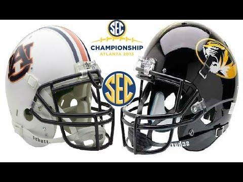 #3 Auburn vs #5 MIssouri [2013 SEC Championship]