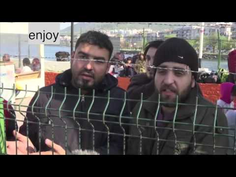 Turkey Migrants, a look inside their life