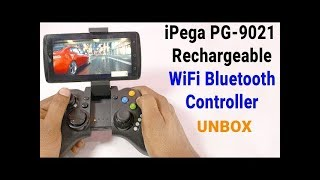 iPega PG-9068 Wireless Bluetooth Controller: Unboxing | Review (Android Phone, iOS,) in hindi