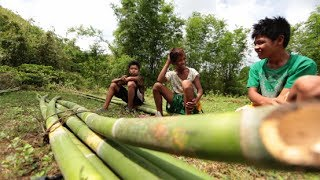 Kids in Rizal make a living out of bamboo sticks | Reel Time