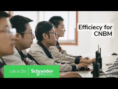 IoT enabled EcoStruxure ensures Efficiency for CNBM