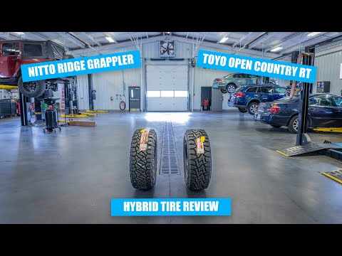Hybrid Tires: Nitto Ridge Grappler Vs Toyo Open Country RT