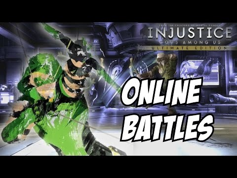 Injustice gods among us ultimate edition Green Arrow online ranked matches / player battles