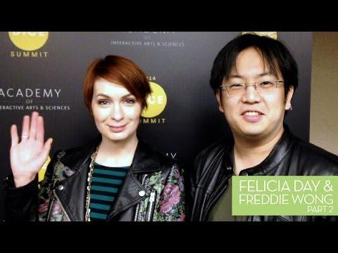 Felicia Day interviews Freddie Wong for Kotaku