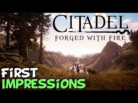 "Citadel: Forged With Fire First Impressions ""Is It Worth Playing?"""