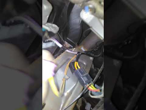 Замена радиатора печки Рено Логан 1