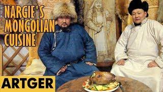 Nargie's Mongolian Cuisine: SHEEP HEAD (Genghis Khan's Favorite Dish)