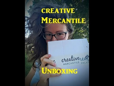 Creative Mercantile Subscription Box Unboxing | July 2016