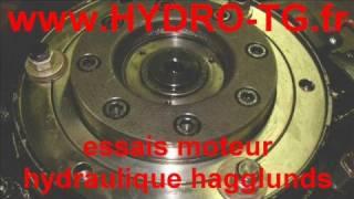 essais moteur hydraulique hagglunds denison