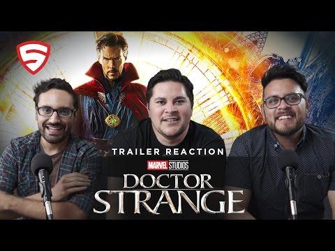 Marvel's Doctor Strange Official Trailer 2 Reaction!