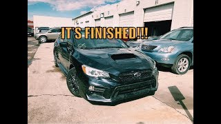 Rebuilding a wrecked Subaru WRX (#1 wrx is finished)